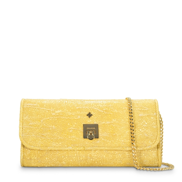Clutch Bag Fiesta collection in Lamb skin