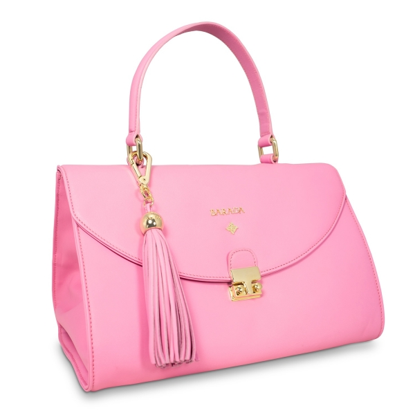 Handbag Isis Collection In Nappa Leather