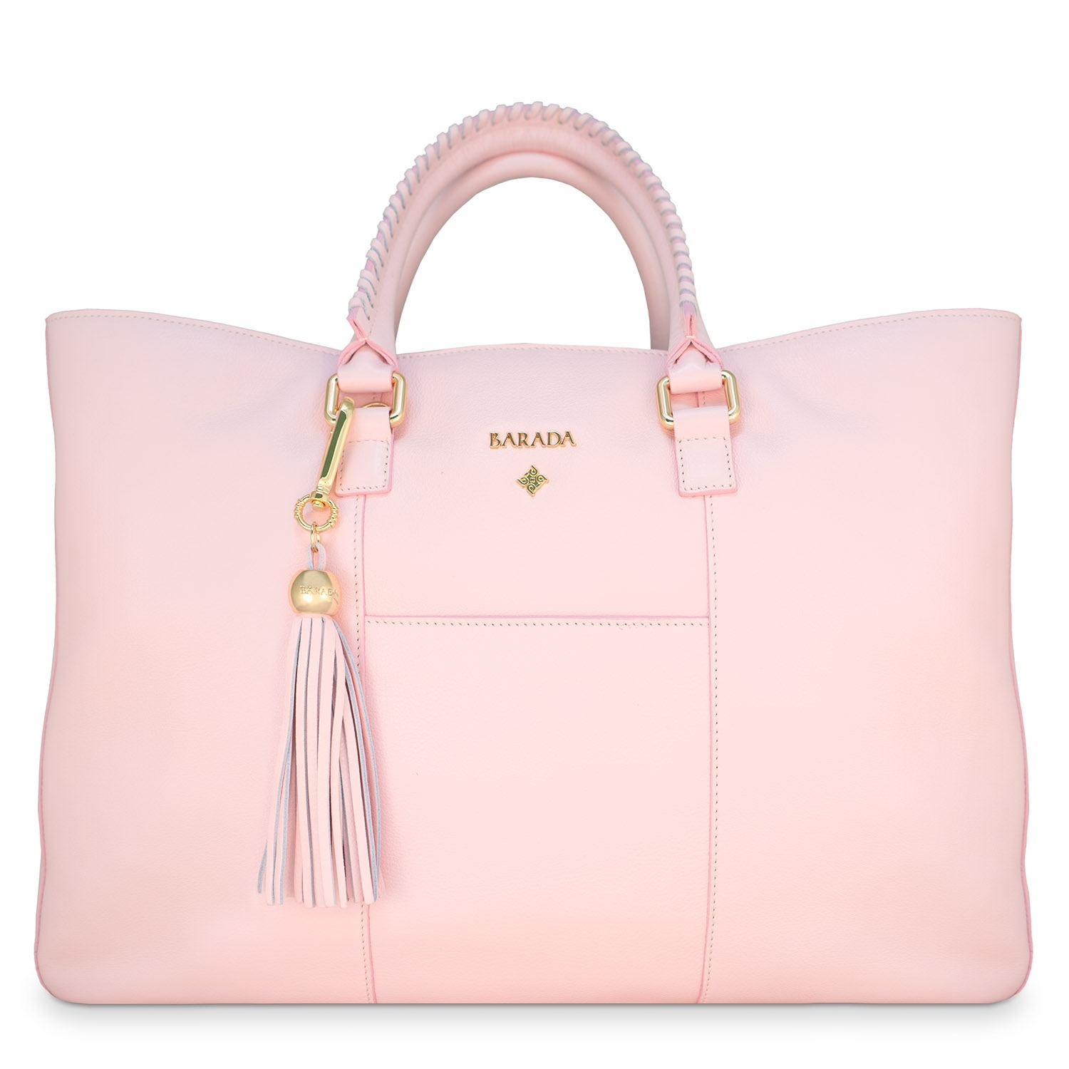 Shopping Handbag From Our Moira Collection In Calf Leather Antelope