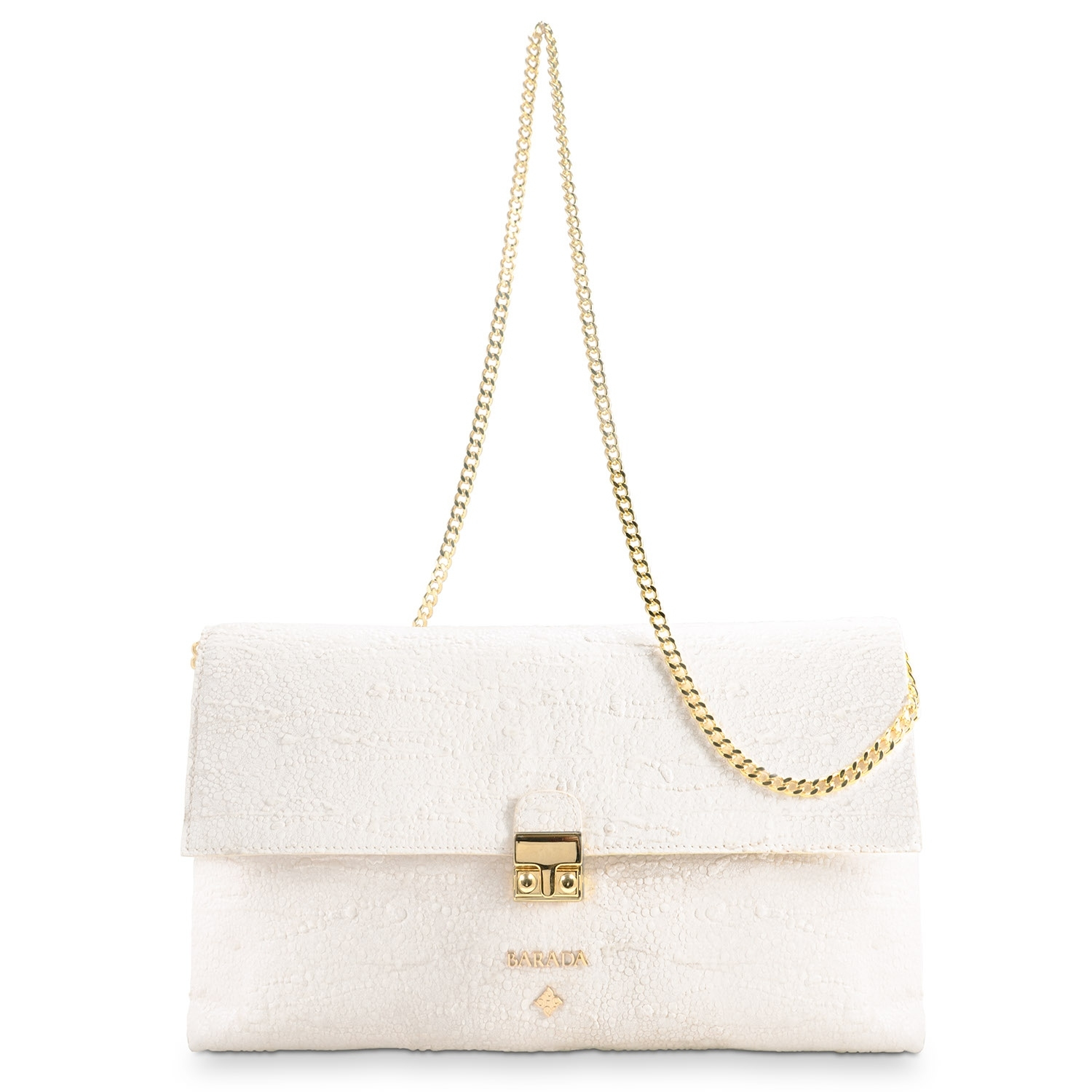 c173138db84e Clutch Handbag from our Dama Blanca collection in Lamb Skin and Beige color.  Loading zoom