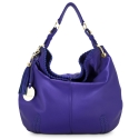 Shoulder bag from Duende collection in Calf leather and Blue color