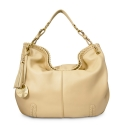 Shoulder bag from Duende collection in Calf leather and Nude color