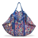 Shopping bag from our Rocío collection in Calf leather and Multicolor color