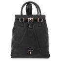 Backpack Breena collection in Calf leather Black colour
