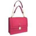 Top handle handbag Style 323 in Setta Leather (Calf) and Red colour