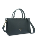 Handbag Style 344 in Napa leather (Lambskin) and Black colour