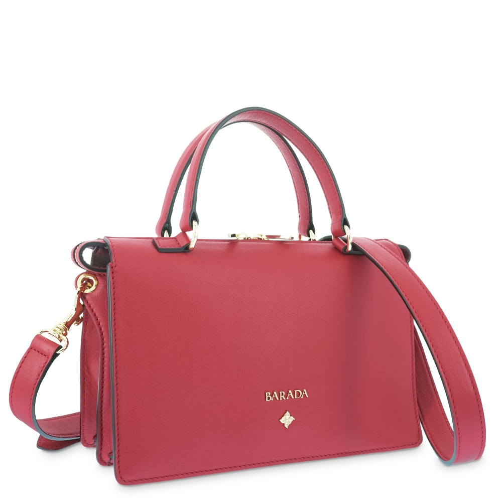 Handbag Style 344 in Napa leather (Lambskin) and Red colour