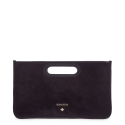Evening Bags in Calf leather and Black colour