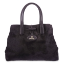 Handbag in Calf leather and Black colour
