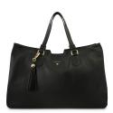Shopping Bag Alexa Collection in Calf Leather