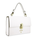Handbag in Calf leather and White colour