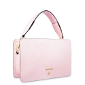 Handbag in Calf leather (Grainy patent) and Pink colour