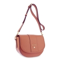 Cross Body Bags in Cow Leather and Tan Leather color