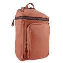 Backpack in Cow Leather and Tan Leather color