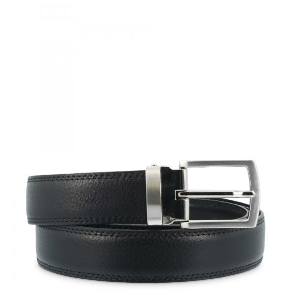 Leather Belt, Barada C1-AL00 in black color