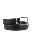 Cinturon en piel Vacuno, Barada C1-AL00 en color Marrón