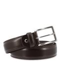 Leather Belt, Barada C2-TE05 in brown color