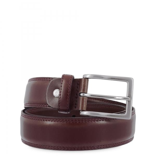 Cinturon en piel, Barada C2-TE31 en color Castellano