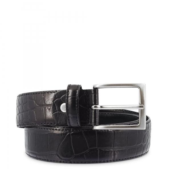 Cinturón en piel, Barada C3-CO00 en color Negro