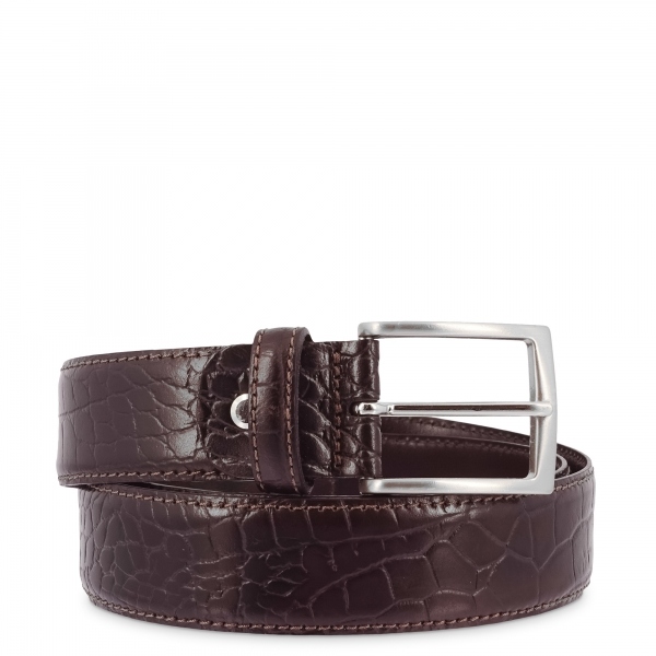 Leather Belt, Barada C3-CO05 in brown color