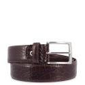 Cinturón en piel, Barada C3-CO05 en color Marrón