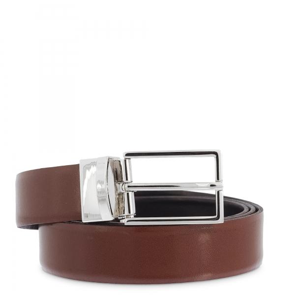 Cinturón en piel, Barada C4-RE05-00 en color Marrón