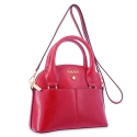 Mini Bags in Cow Leather and Red color