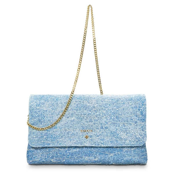 Crossbody Clutch Amatista Collection in Lamb Skin