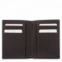 Leather Wallet Card Holder for men in Brown color