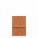 Leather Cigarette Case for women in Tan Leather color