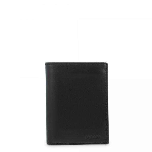 Leather Purse Wallet for men in Black color