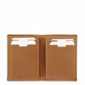 Leather Wallet for men in Tan Leather color