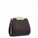 Leather Coin Purse for women in Brown color