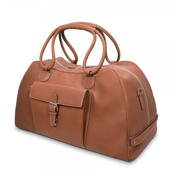 Barada Travel Bag in tan colour