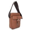 Barada Men's Small Crossover bag in Tan colour