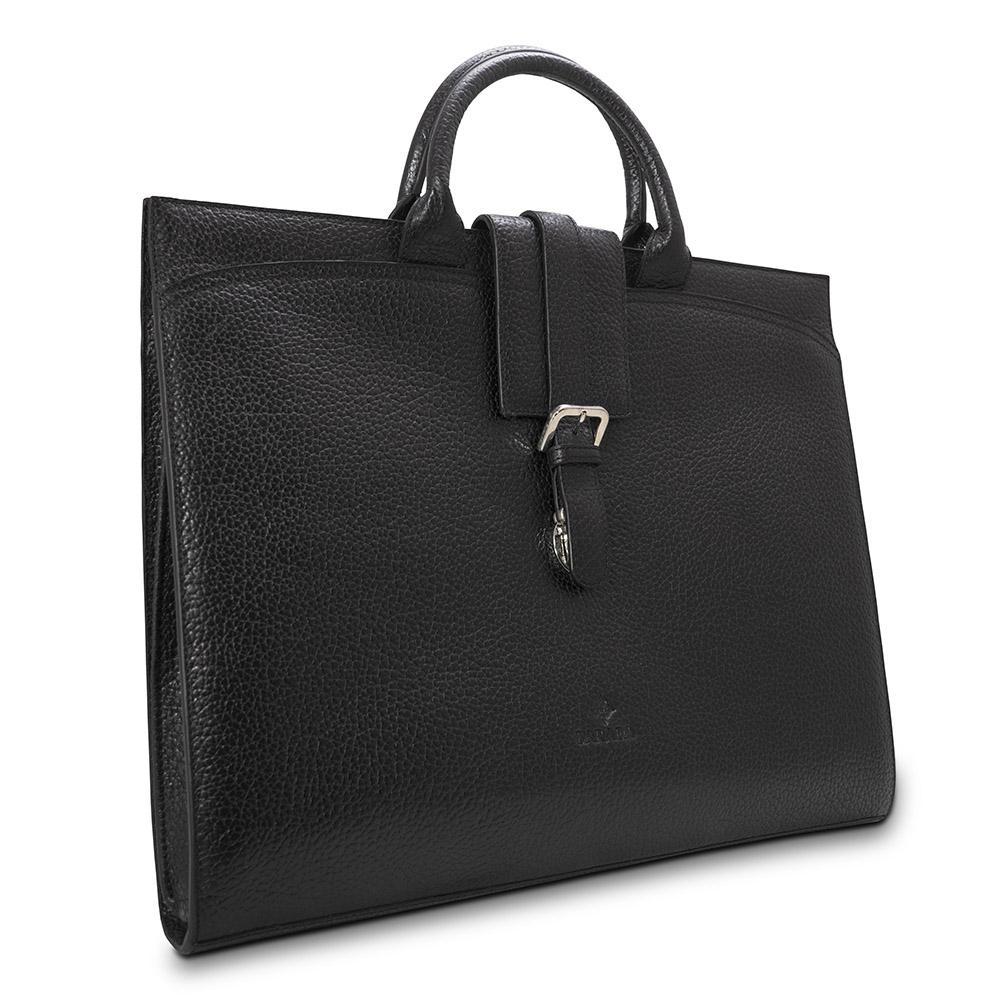Barada Ladies Soft Document Case in Black colour