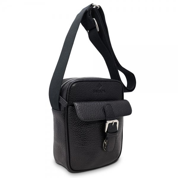 Bolso pequeño de caballero Barada en color Negro