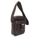Barada Men's Small Crossover bag in Brown colour