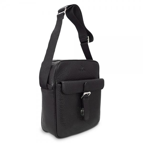 Barada Men's Large Crossover bag in Black Colour
