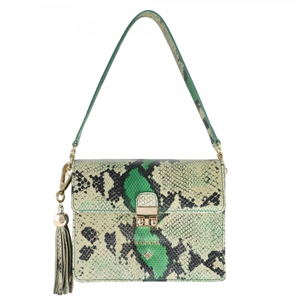 Shoulder bag from our Astrea collection in Calf Leather (snake print)
