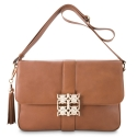Messenger Shoulder bag from our Nereidas collection in Calf Leather (Antelope finish)