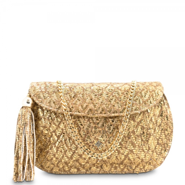 Clutch bag from our Lady Rowena collection in Lamb Skin (fantasy engraved)
