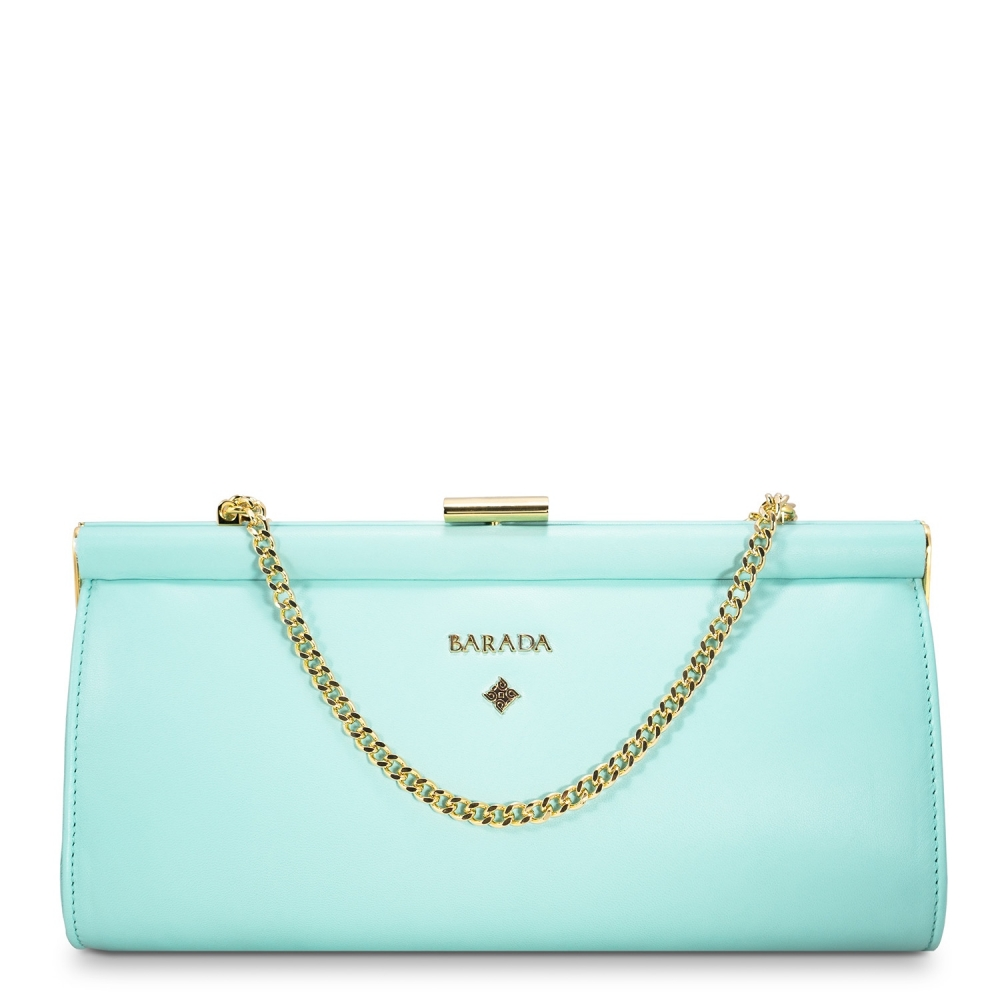 Clutch Bag Amatista Collection in Nappa Leather