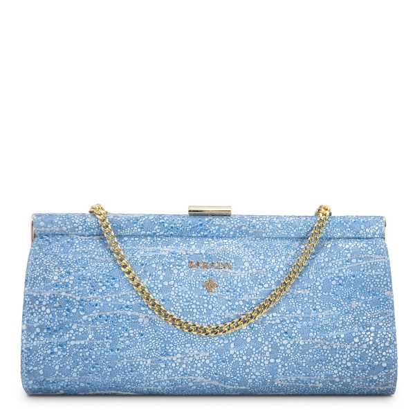 Clutch Bag Amatista Collection in Lamb Skin