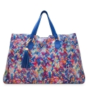 Shopping Tote handbag from our Gea collection in Calf Leather (Multicolour Textured)