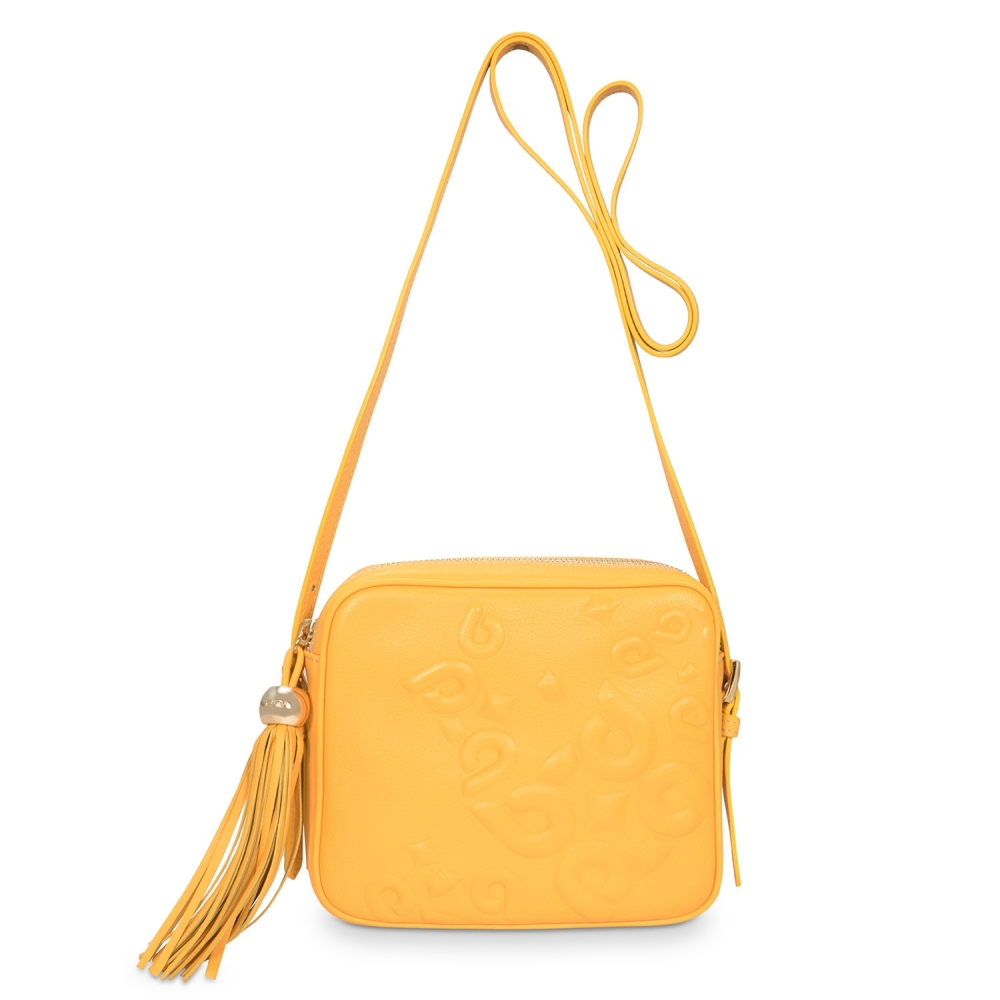 Cross Body Bag from our Hera collection in Calf Leather (Antelope)