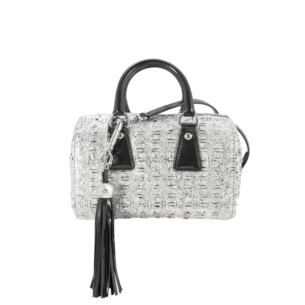 Mini Bowling bag from our Lily collection in Lambskin (Fantasy pattern)