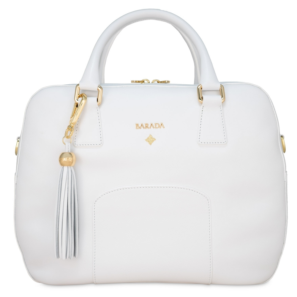 Classic Handbag from our Morgana collection in Calf Leather (Antelope)
