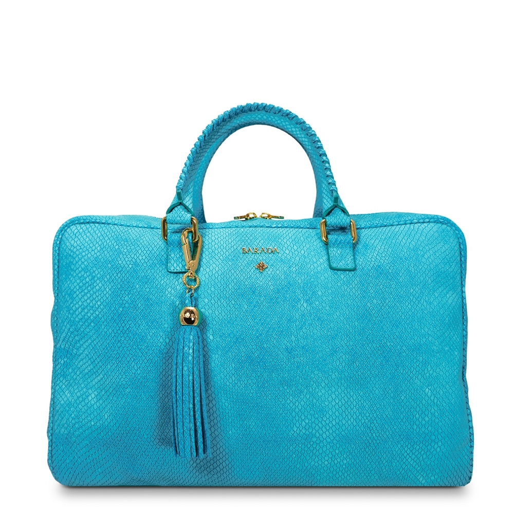 Briefcase Moira Collection in Nubuck finished Calf Leather