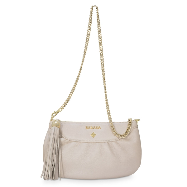 Shoulder Bag from our Nefeles collection in Lambskin (Metallic Nappa)